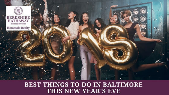 Baltimore Things to Do New Year's Eve